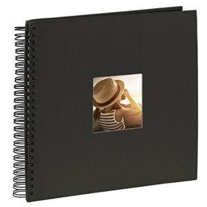 """Hama Album photo à spirales""""Fine Art"""", 36 x 32 cm, 50 pages noires, noir"""