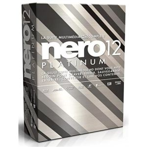 Nero 12 Platinum pour Windows