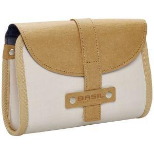 Basil Portland Saddle Bag - Crème