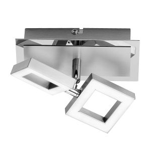 Paul neuhaus 9005-55 - Applique murale LED Twins