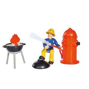 Simba Toys Kit d'extinction Sam Le Pompier