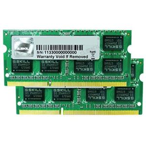 G.Skill F3-8500CL7S-4GBSQ - Barrette mémoire Standard 4 Go DDR3 1066 MHz CL7 204 broches