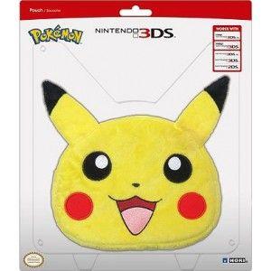 Hori Sacoche peluche Pokemon Pikachu 3DS et 2DS