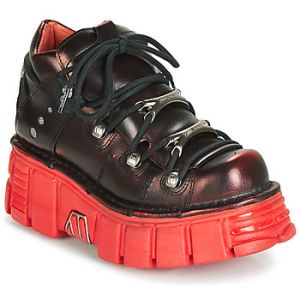New rock Baskets basses M-106N-C59 rouge - Taille 36,37,38,39,40,41