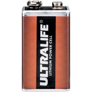 CFP Sécurité Pile lithium Ultralife (9V)