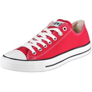 Converse Chuck Taylor All Star Season Ox, Baskets Basses Mixte adulte - Rouge (Rot), 36 EU