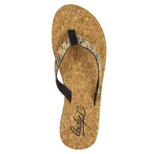 Cool shoe Tongs Sunday Noir/liège