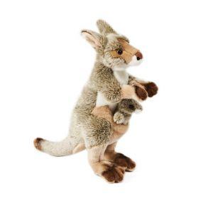 Soft Friends Kangourou et son bébé 35 cm
