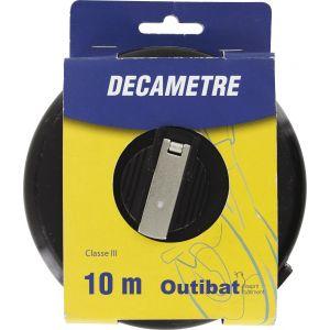 Outibat Mesure decamètre ruban fibre Décamètre
