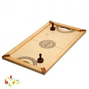 Carrom Art Shuffle Puck : Jeu de palets de table Mango (130 x 70 cm)