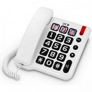 SPC 3294 - Téléphone fixe pour personnes âgées