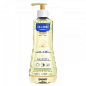 Mustela Huile lavante peau sèche