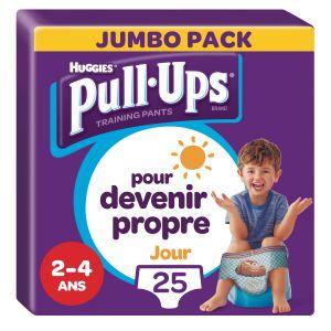 Huggies Culottes D'apprentissage Jour Garçon De 2 À 4 Ans : 18-23kg Pull-ups - Le Paquet De 25