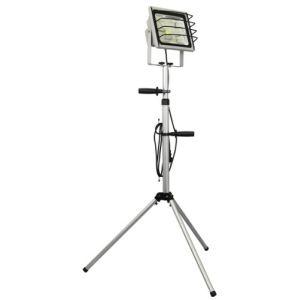 Ranex XQ1230 - Projecteur LED 50 W sur pied en aluminium et verre