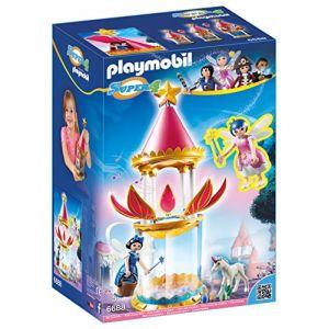 Playmobil 6688 Super4 - Tourelle musicale avec étincelle