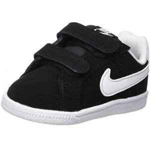 Nike Court Royale (TDV), Chaussons Mixte bébé, Noir (Black/White 002), 19.5 EU