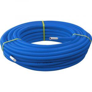 Toolstation 100m Tube Multicouche Ø16x2,0 Prégainé Bleu SOMATHERM
