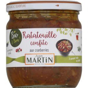 Jean martin Ratatouille aux cranberries bio 360g