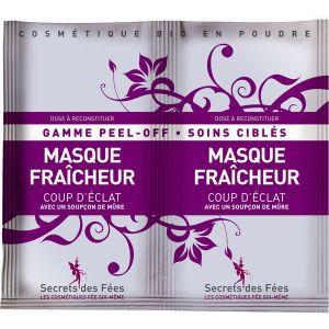 Secrets des Fées Masque fraîcheur Coup d'éclat 2 x 8 g