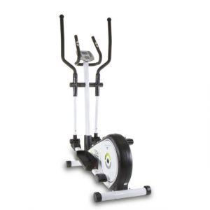 Tecnovita by bh VitaCross Program Yc202 Vélo elliptique. Volant d inertie de 7kg. Frein magnétique. Foulée 33cm. Repose pieds Xxl Moniteur Lcd. Blanc