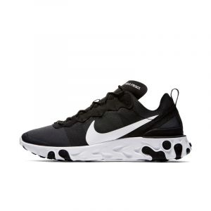 Nike Chaussure React Element 55 pour Homme - Noir - Couleur Noir - Taille 38.5