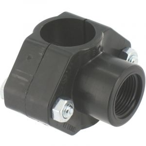 Nf Collier de prise en charge Cap Vert - Filetage 20 x 27 mm - Diamètre 40 mm