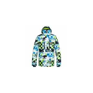Quiksilver Mission Printed Jk Lime Green Money Time