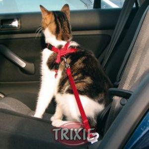 Trixie Harnais et ceinture de sécurité pour chat 20-50 cm