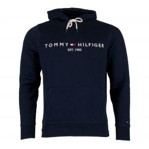 Tommy Hilfiger Sweat-shirt TOMMY LOGO HOODY bleu - Taille 36,XXL,S,M,L,XL