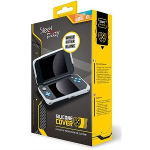 Steelplay Housse de protection Housse Silicone New 2DS XL Blanche