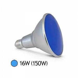 Vision-El Ampoule LED 16W (150W) E27 PAR38 IP65 Couleur Bleu