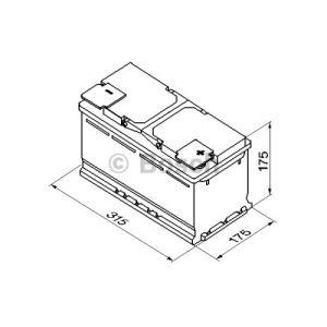 Bosch 0092S40100 - Batterie de démarrage