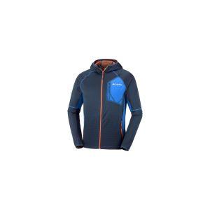 Columbia Polaire Zippée Jumper pour Homme, Triple Canyon Hooded Fleece, Polyester, Bleu Marine (Collegiate Navy), Taille: XXL, EO0032
