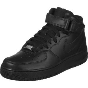 Nike WMNS Air Force 1 Mid '07 Le, Sneaker Femme, Noir (Black/Black), 36.5 EU
