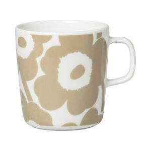 Marimekko Mug Unikko / 40 cl blanc,beige en céramique