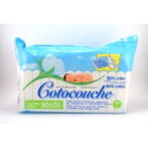 Nuk Cotocouche en coton (0-4 mois) - 30 couches