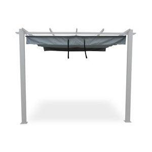 Toile d'ombrage pour tonnelle adossée GERS 180 gr m²