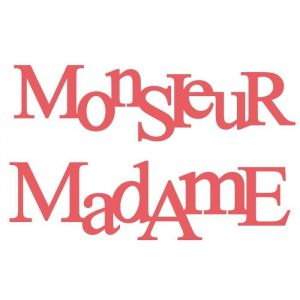 Toga Dies - Monsieur Madame - 2 pcs