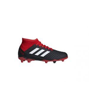 Adidas Predator 18.3 FG J, Chaussures de Football Mixte Enfant, Noir