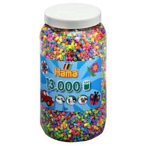 Hama Pot de 13000 perles à repasser