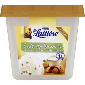 La laitière Glace lait d'amande petites amandes craquantes - Le bac de 430 g