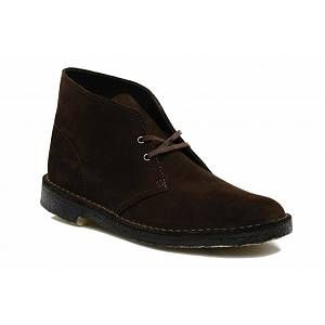 Image de Clarks Originals - Desert Boot - Bottes - Homme - Marron (Brown Sde) - 41 EU