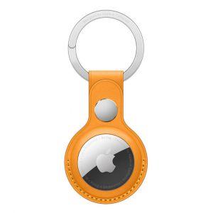 Apple Porte-Clés en cuir AirTag Pavot de Californie