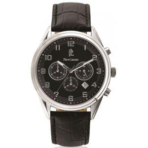 Pierre Lannier 267C1 - Montre pour homme Chronographe avec bracelet en cuir