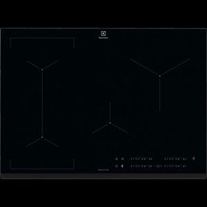 Electrolux 949596717 Table de cuisson Induction - 4 foyers - 7350 W - 15 positions de puissance - Noir