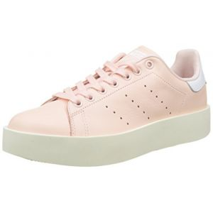 Adidas Stan Smith Bold, Baskets Femme, Rose (Iced Pink/Iced Pink/Footwear White), 38 2/3 EU