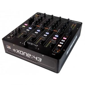 Allen & Heath Xone:43 4channels 20-20000Hz Noir - Tables de mixage audio