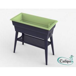 Calipso Jardinière MAXI 40 L gris/turquoise