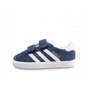 Adidas Baskets basses enfant GAZELLE CF I bleu - Taille 19,20,21,22