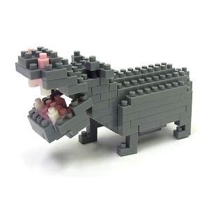 Kawada Nanoblock - Hippopotame